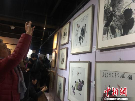 中国传统书画艺术云南名家邀请展昆明开展(图)