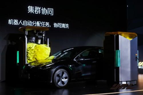 原创科技的力量——第四代智能洗车机掀起行业大改革