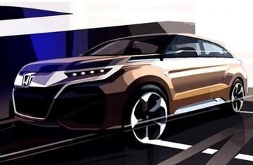 本田全新SUV概念车消息 将上海车展首发