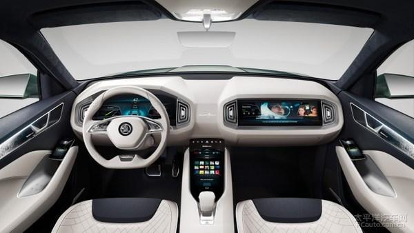 斯柯达北京车展阵容 VisionS亚洲首秀