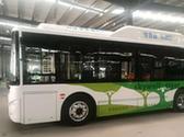 氢能城市客车量产车型亮相加氢5分钟可续航450公里以上