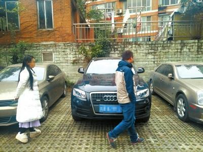 """杨女士花了近19万元,买到辆二手""""问题车""""。图片来源:华西都市报"""