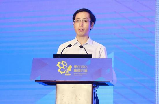工业和信息化部政策法规司副司长范斌