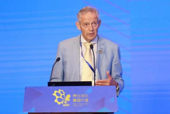 ISO 26000利益相关方全球网络副主席Hans Kr der