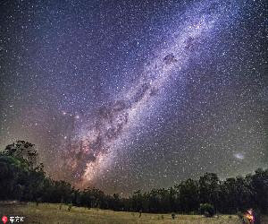 最美的星空夜景 浩瀚宇宙天文奇观美到不可思议【6】