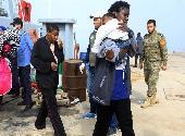 (国际)(1)利比亚海军在西部海域救起125名非法移民