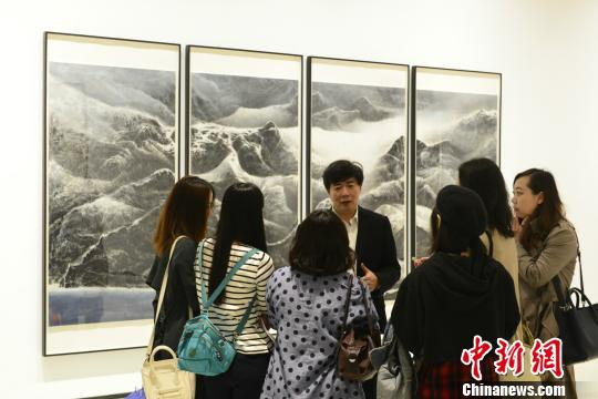 中国当代水墨年度展在渝举行37位海内外水墨艺术家参展