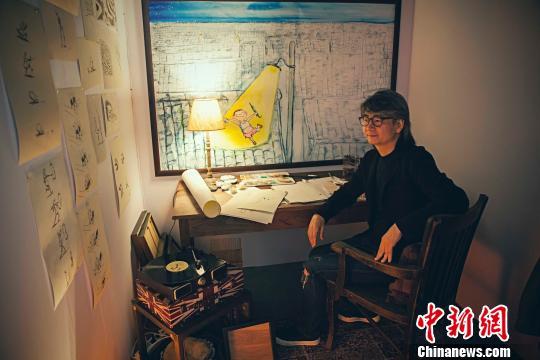 台湾漫画家朱德庸:把幽默创造力放进城市每一个角落