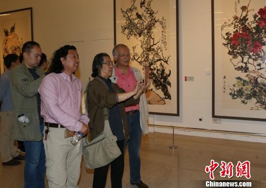 国家博物馆入藏画家郭志光代表作巨幅《雄无争》