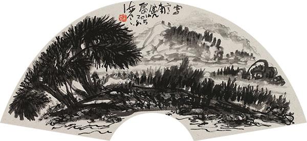 王天民书画作品《写意南麂岛》