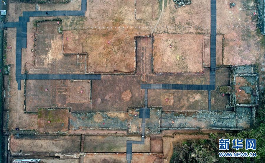 (文化)(1)专家:大上清宫为迄今发掘规模最大、等级最高的道教遗址