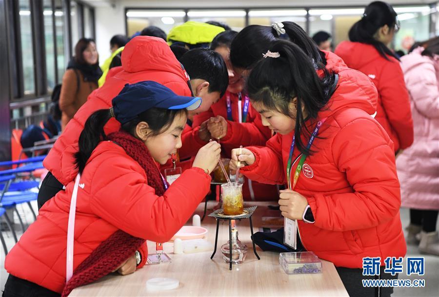 (教育)(2)重庆市深度贫困乡镇中小学生科技冬令营启动