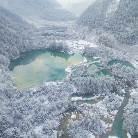 (社会)(4)九寨沟部分景观恢复开放