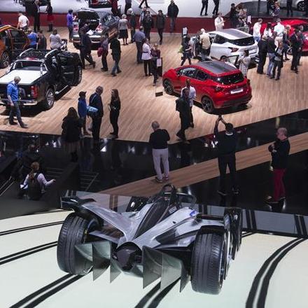(国际)(1)第88届日内瓦国际车展正式开幕