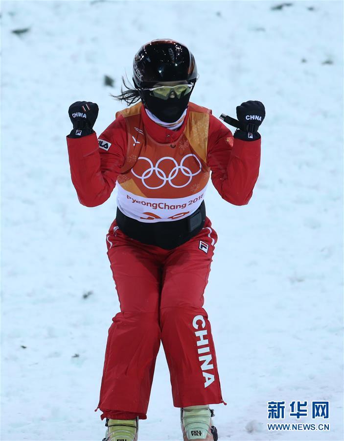 (冬奥会)(1)自由式滑雪——女子空中技巧:中国选手获银、铜牌