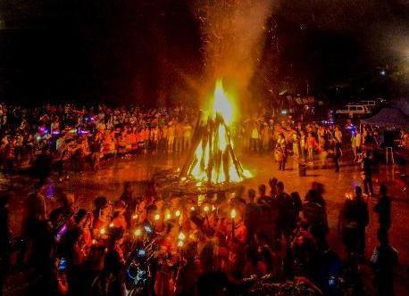 #(社会)(4)广西隆林彝族同胞欢度火把节