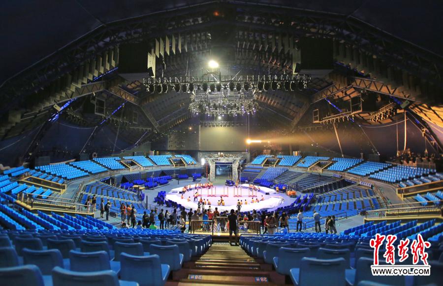 第二届中国国际马戏节启用长隆横琴国际马戏新馆图片