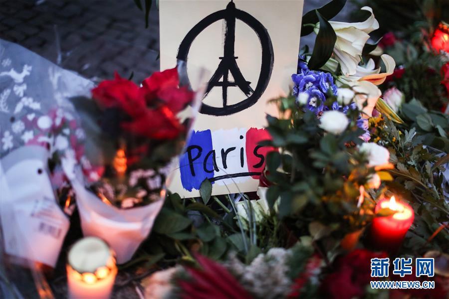 (国际)(3)柏林悼念巴黎恐袭遇难者