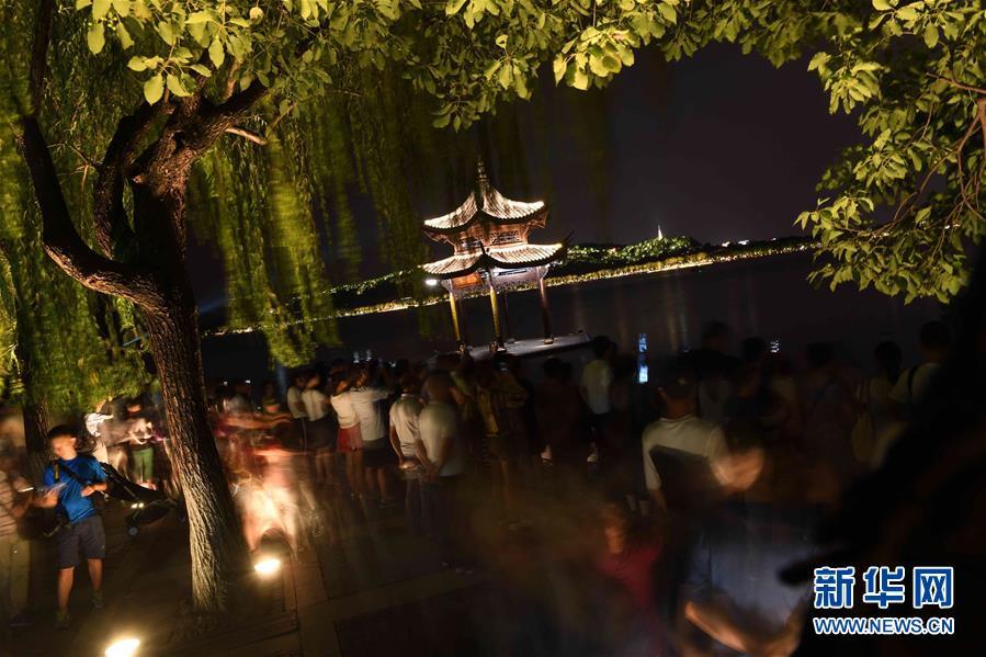 【聚焦G20】夜景西湖