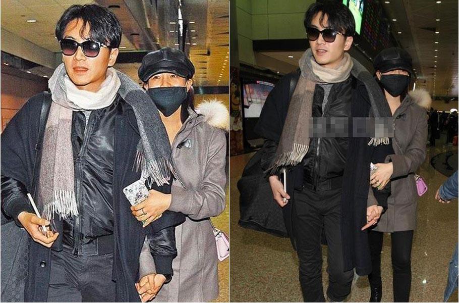 32岁的陈妍希与岁的陈晓因合作