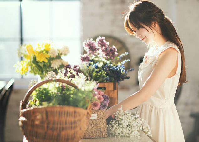 韩国第一美少女晒新照 明眸皓齿明艳动人