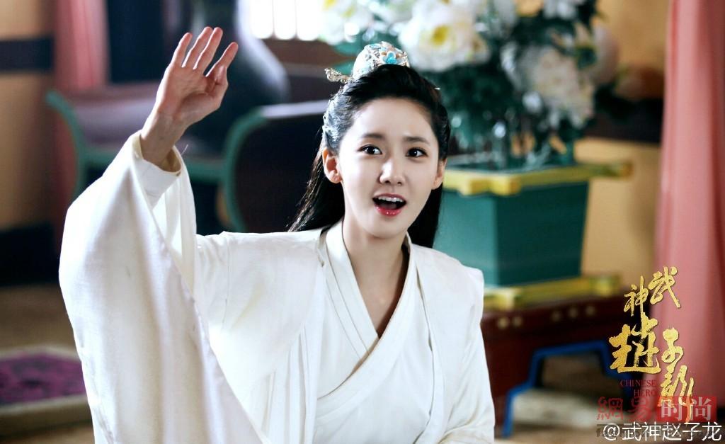 韩女星穿中国古装 林允儿好仙