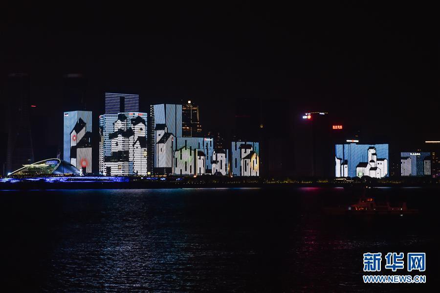 【聚焦G20】钱塘江畔的灯光秀