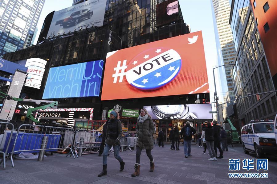 (国际)(1)美国总统选举即将举行
