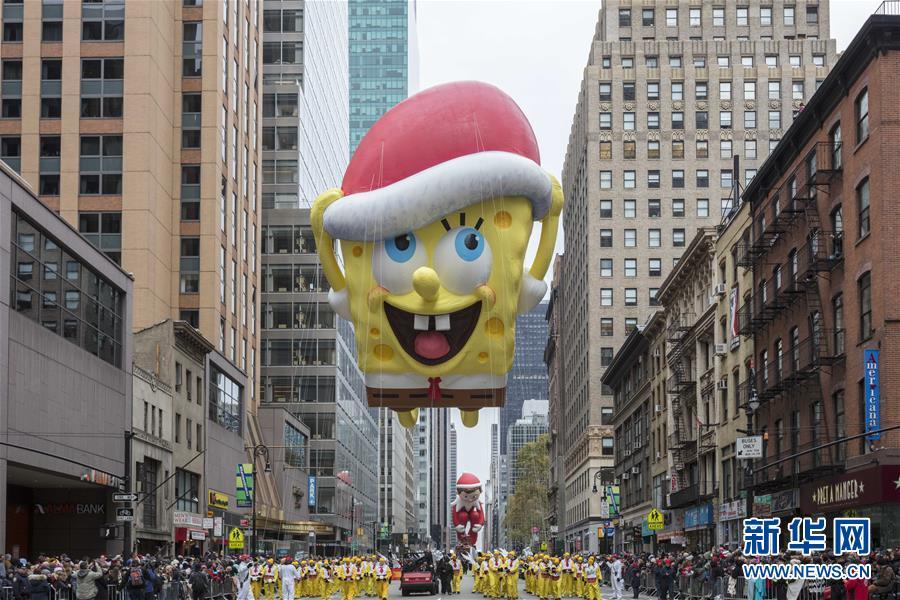 (国际)(1)纽约举行2016感恩节大游行