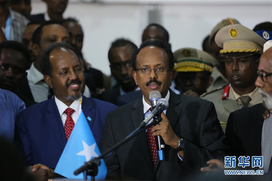 (国际)穆罕默德·阿卜杜拉希·穆罕默德当选索马里新任总统