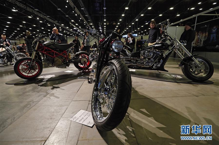 [5](外代二线)俄罗斯举办2017年圣彼得堡国际摩托车展
