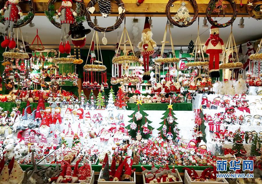 (国际)(3)维也纳:圣诞市场气氛浓