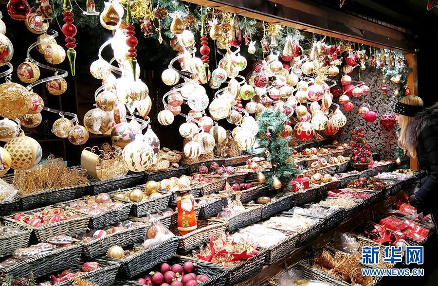 (国际)(4)维也纳:圣诞市场气氛浓