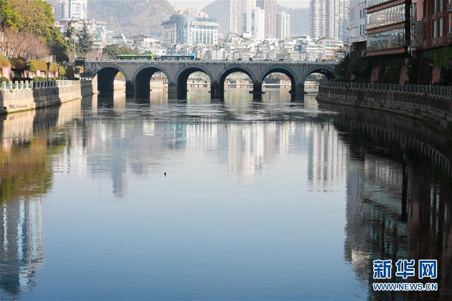 (环境)(1)贵阳南明河有望明年变清