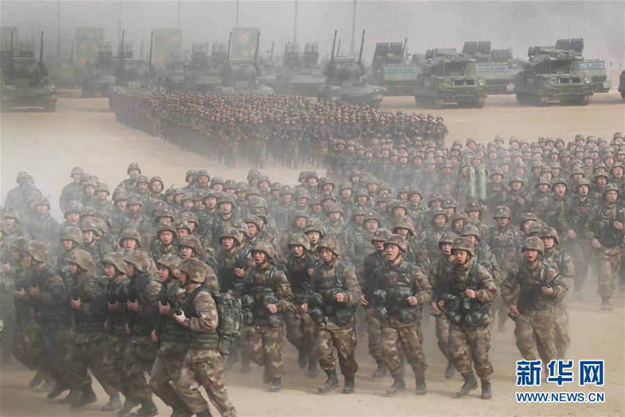 (新华全媒头条·图文互动)(1)备战踏上新起点,练兵展现新气象——2018中国军队新年开训全景大扫描