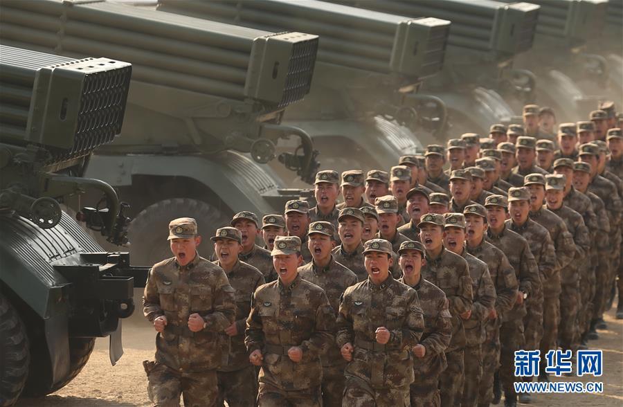 (新华全媒头条·图文互动)(3)备战踏上新起点,练兵展现新气象——2018中国军队新年开训全景大扫描