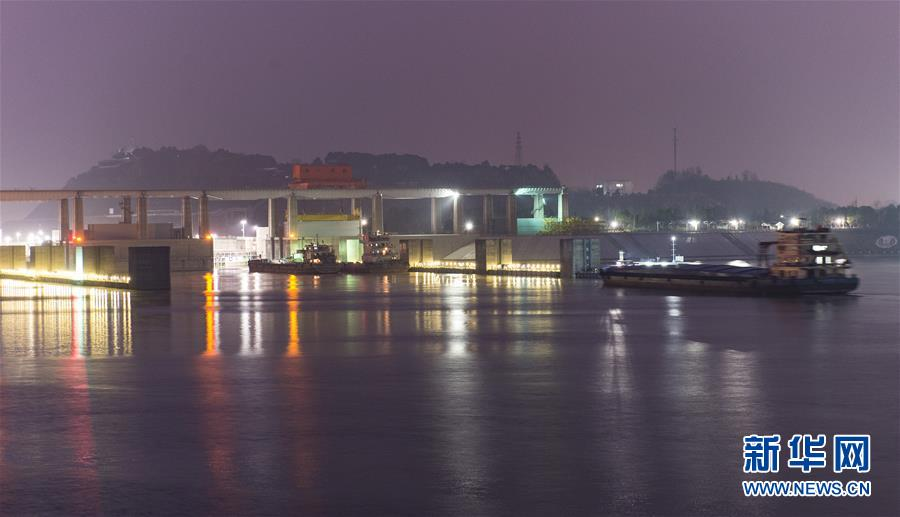 #(经济)(2)三峡工程大坝船闸通航效率再创历史新高