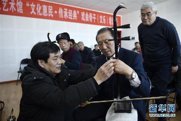 (新时代新气象新作为)(2)培养文艺骨干 为农村文化添活力