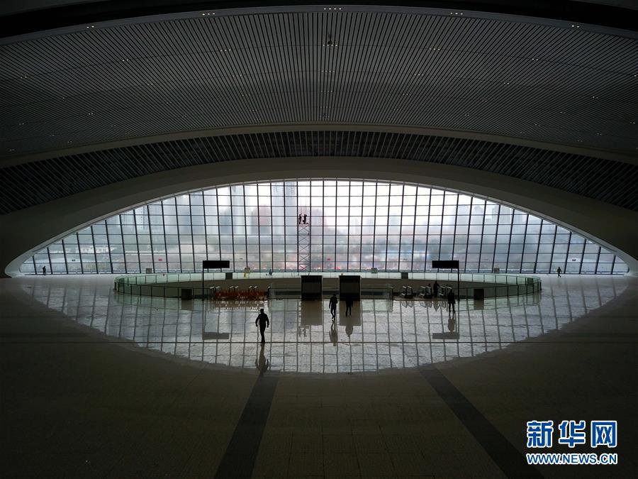 (经济)(1)重庆西站一期建设竣工