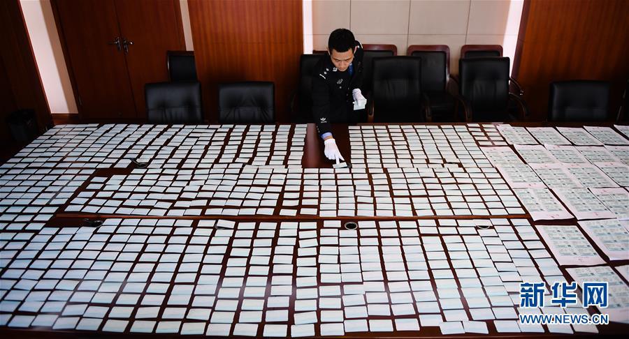 (法治)(1)南京铁路公安破获一起制售春运假票案件