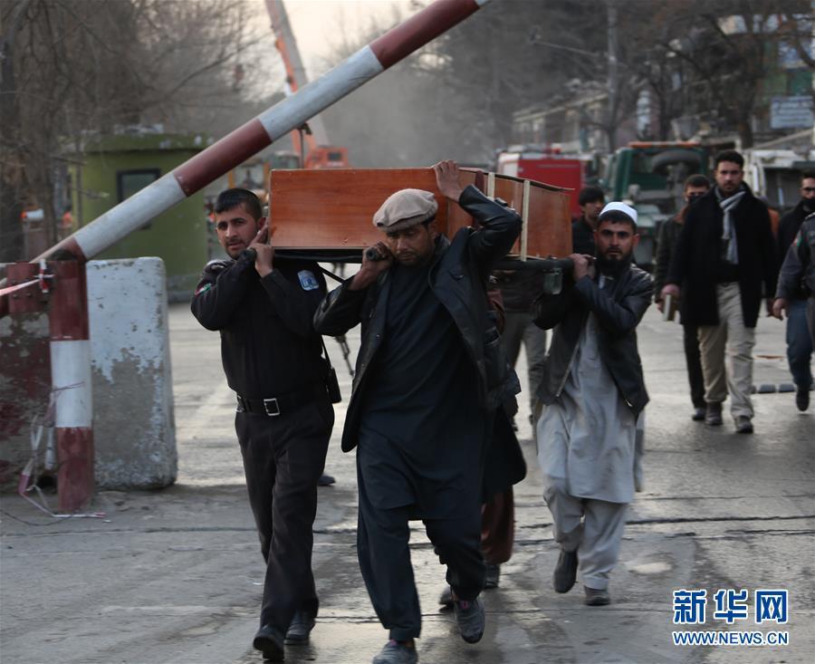 (国际)(1)喀布尔汽车炸弹袭击死亡人数上升至63人