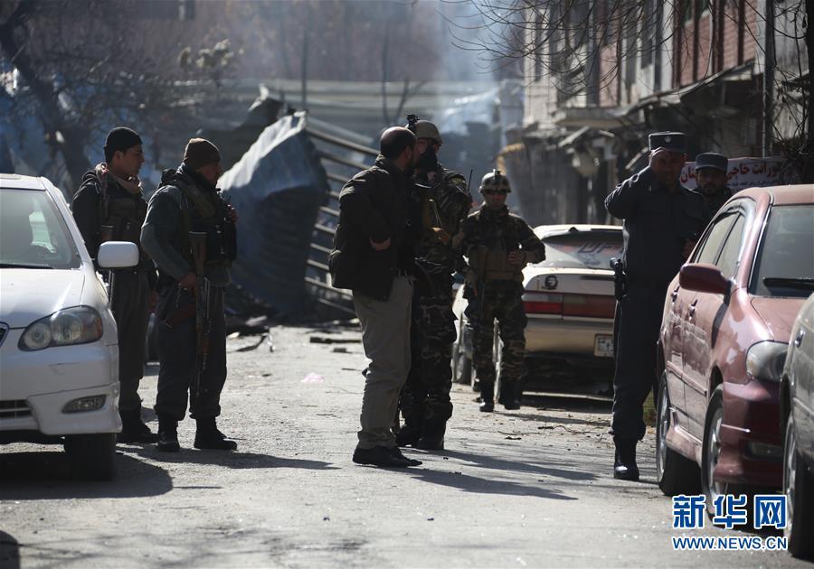 (国际)(8)阿富汗喀布尔市区爆炸致上百人死伤