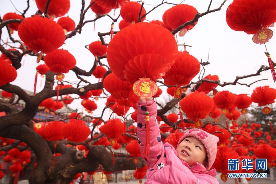 #(社会)(3)北京地坛公园年味渐浓