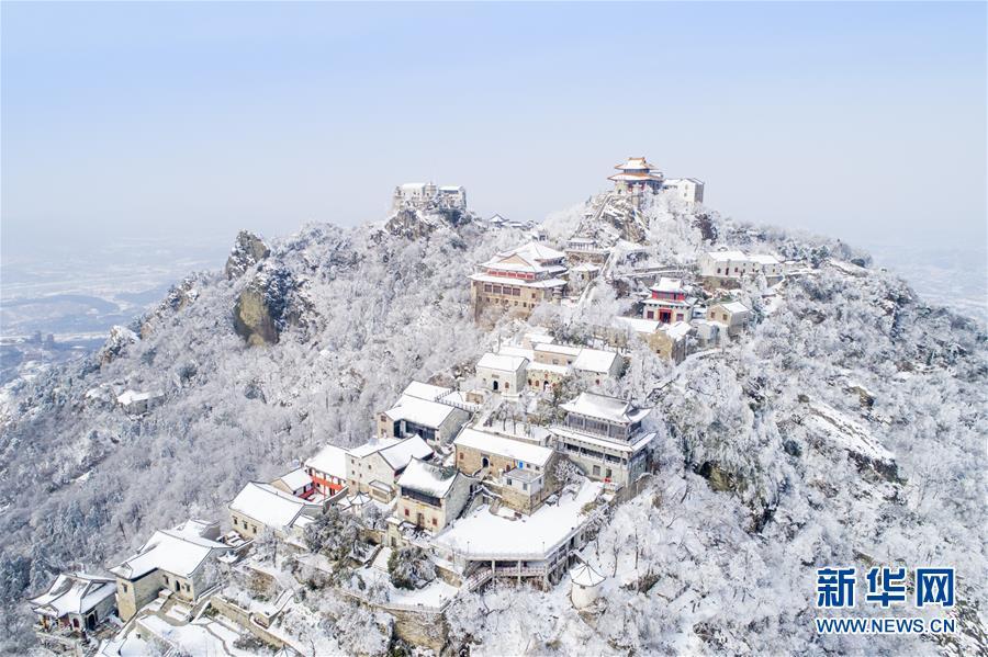 #(环境)(1)雪后初霁木兰山
