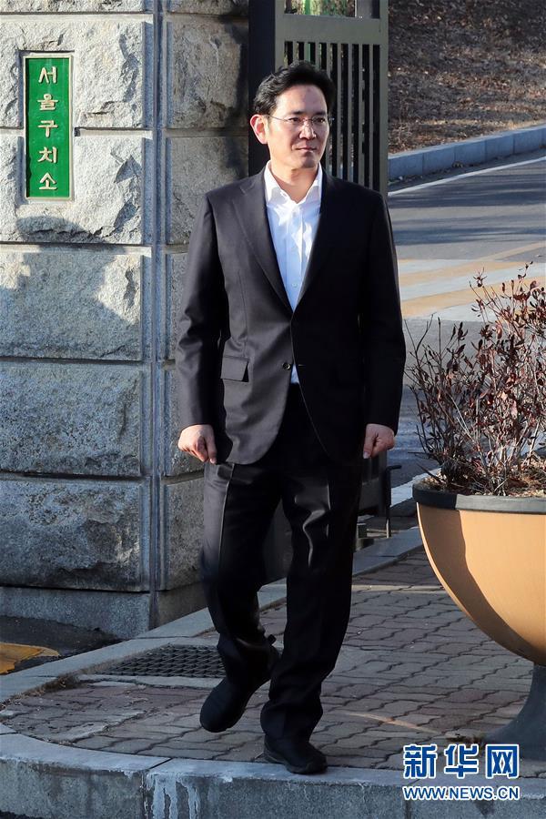 (国际)(1)韩国三星电子副会长李在镕二审获判缓刑