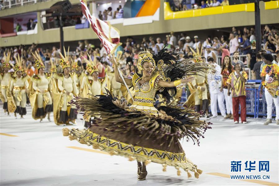 (国际)(1)2018巴西里约狂欢节开幕