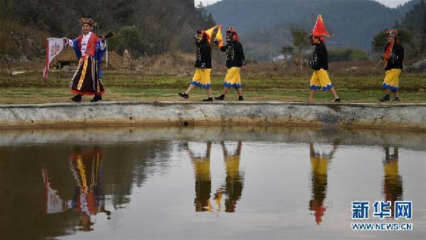 #(文化)(2)湖北恩施:傩戏祈福迎新春