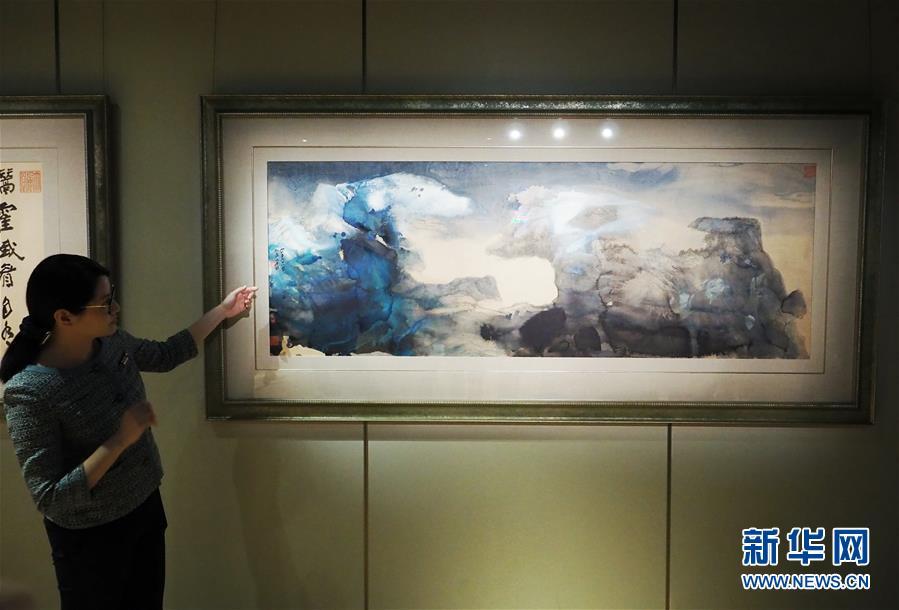 (XHDW)(1)香港苏富比春拍将呈现280幅中国书画名家作品