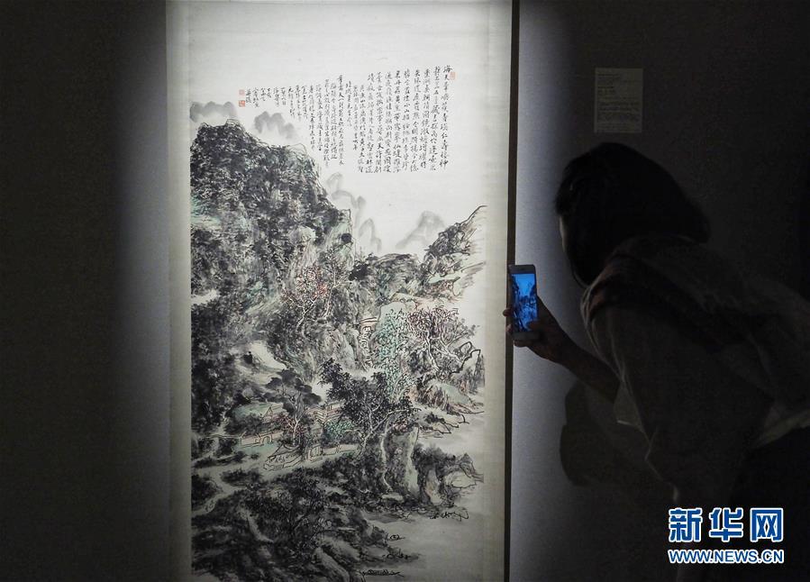 (XHDW)(2)香港苏富比春拍将呈现280幅中国书画名家作品