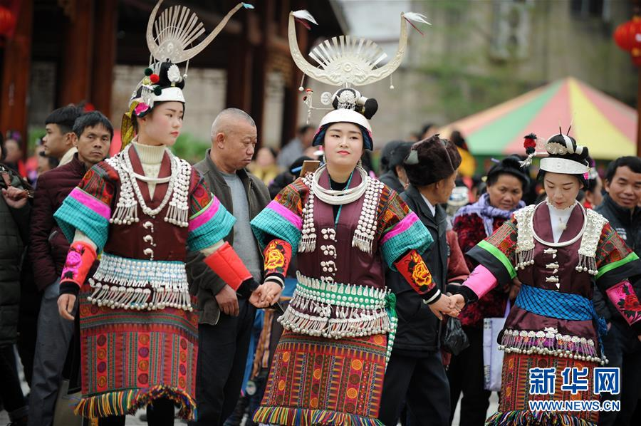 (社会)(8)贵州凯里:芦笙舞步闹新春